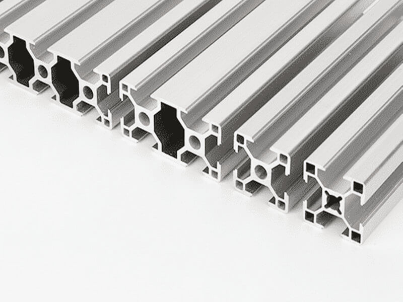 aluminum profile cutting